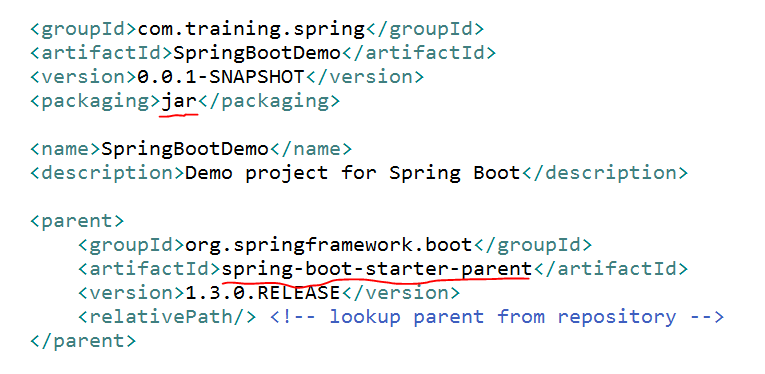 spring boot project